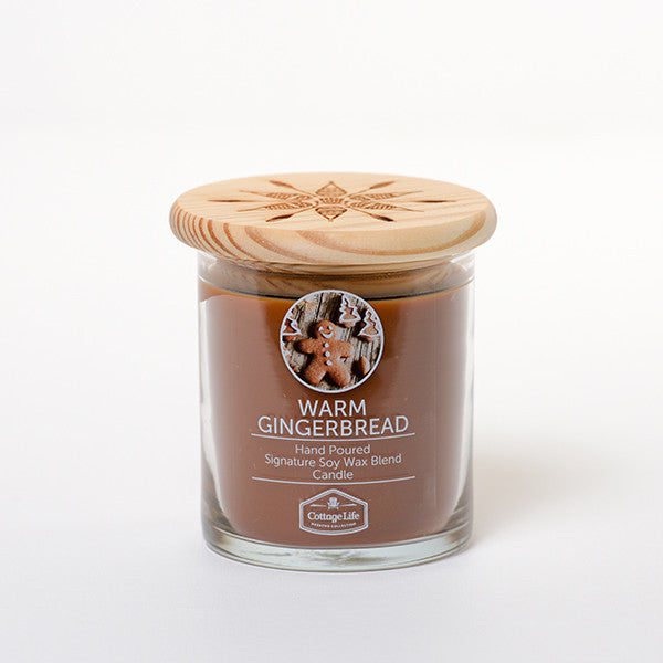 WARM GINGERBREAD 8 OZ - COTTAGE LIFE WEEKEND COLLECTION