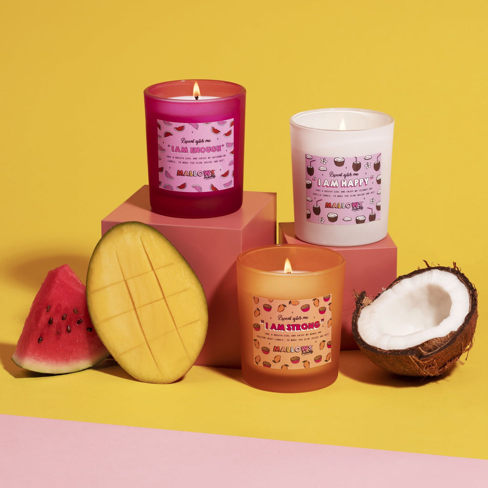 Mango and Passionfruit Candle