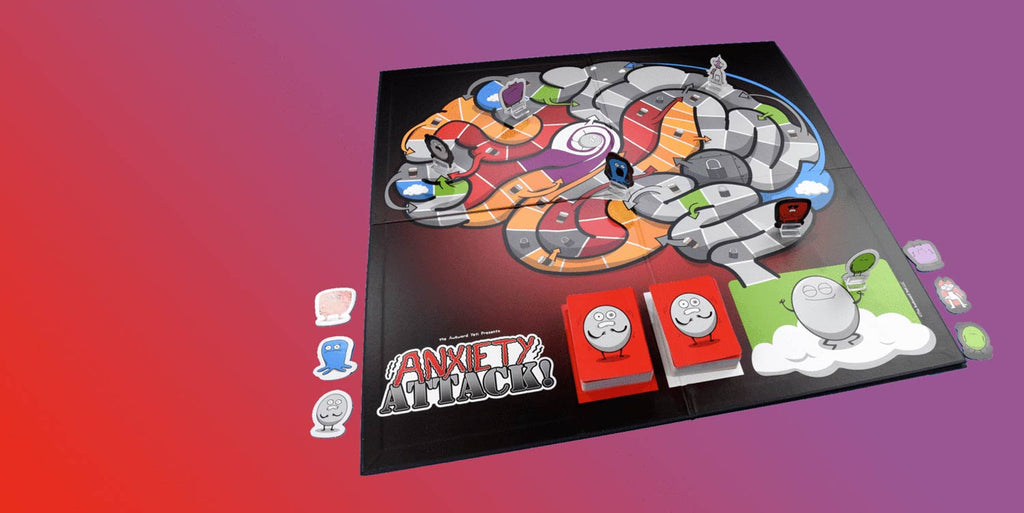Anxiety attack - board game