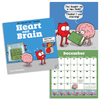 Heart and Brain 2019 Wall Calendar