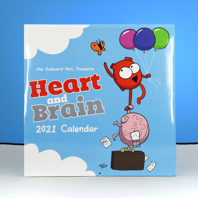 Heart and Brain 2021 Calendar