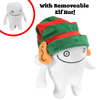 Holiday Edition Tooth Plush with removable Elf hat