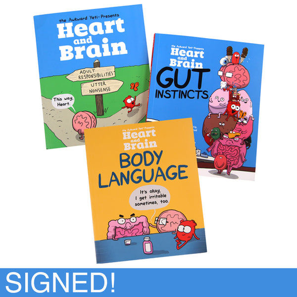 """Heart and Brain, Gut Instincts, and Body Language"" Collection"