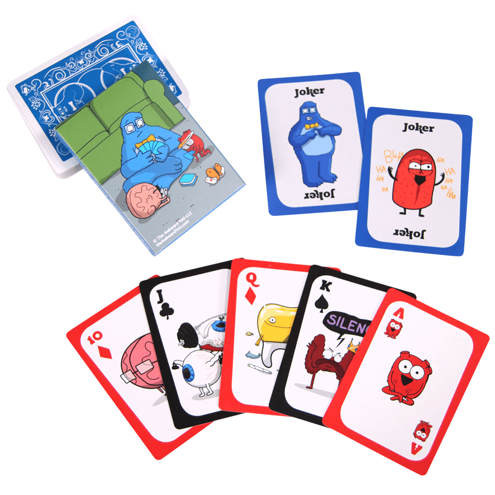 Organ Character Poker Card Deck