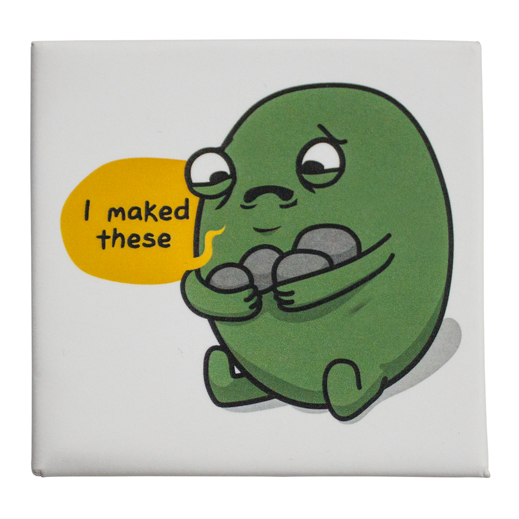Sad Gallbladder Fridge Magnet