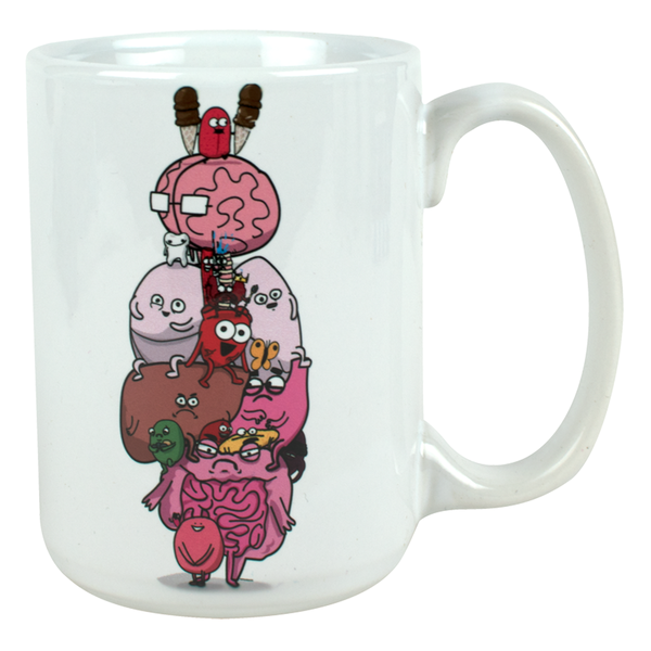 """Anatomy Diagram"" Mug"