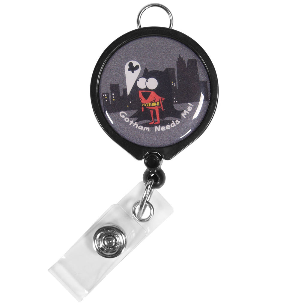 "Bat Heart ""Gotham Needs Me"" ID Badge Reel"