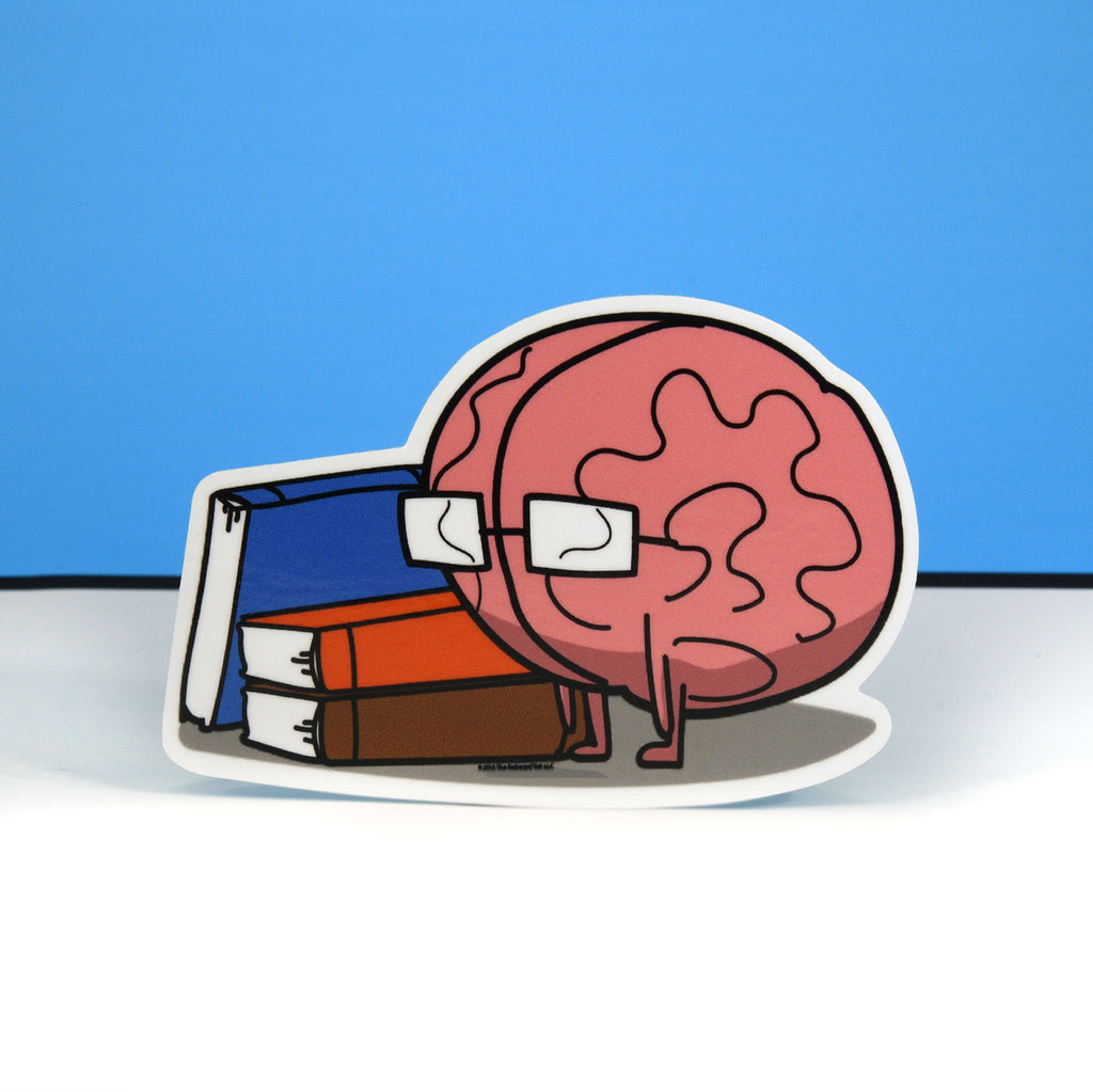 Brain Die-Cut Sticker