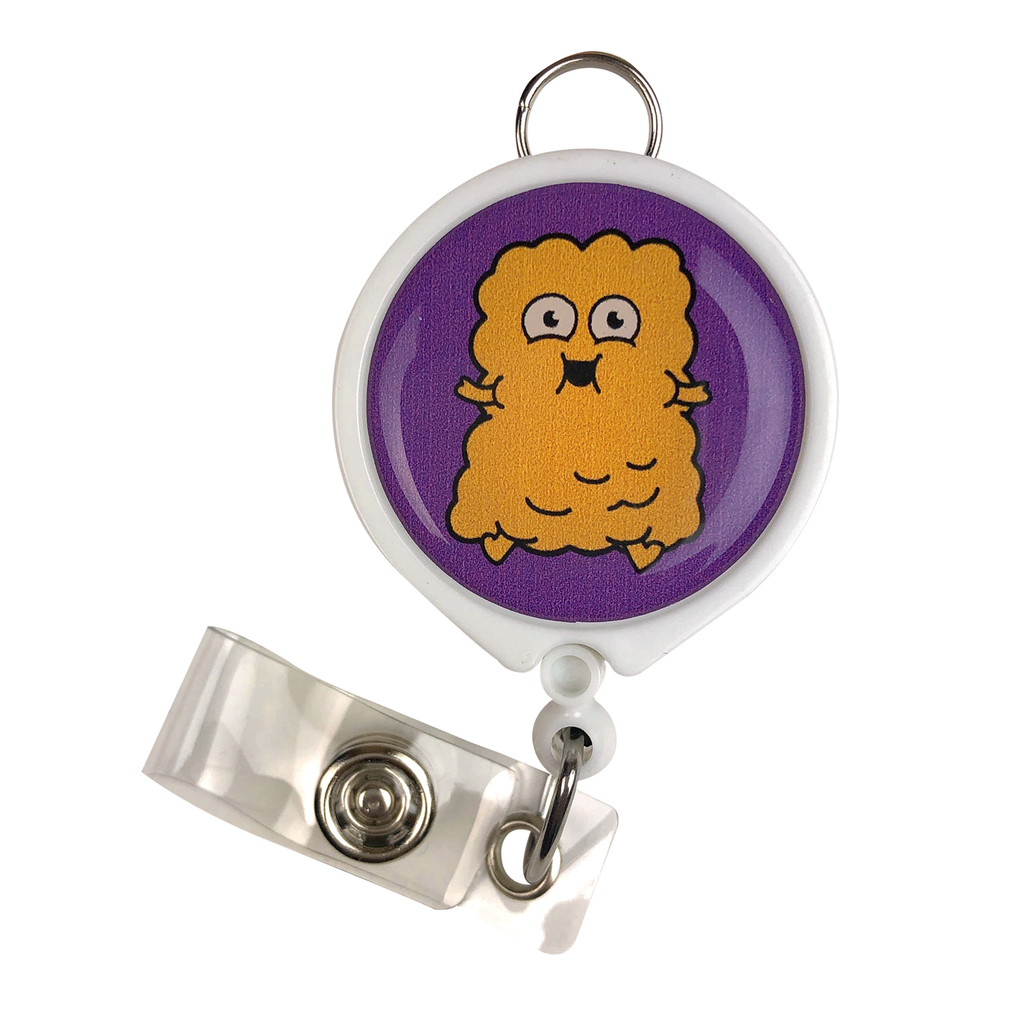Fat ID Badge Reel
