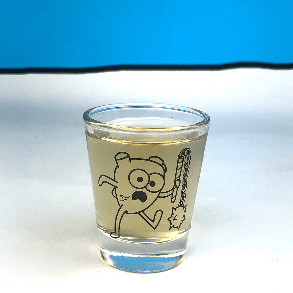 "Heart Attack ""OrganATTACK"" Shot Glass"