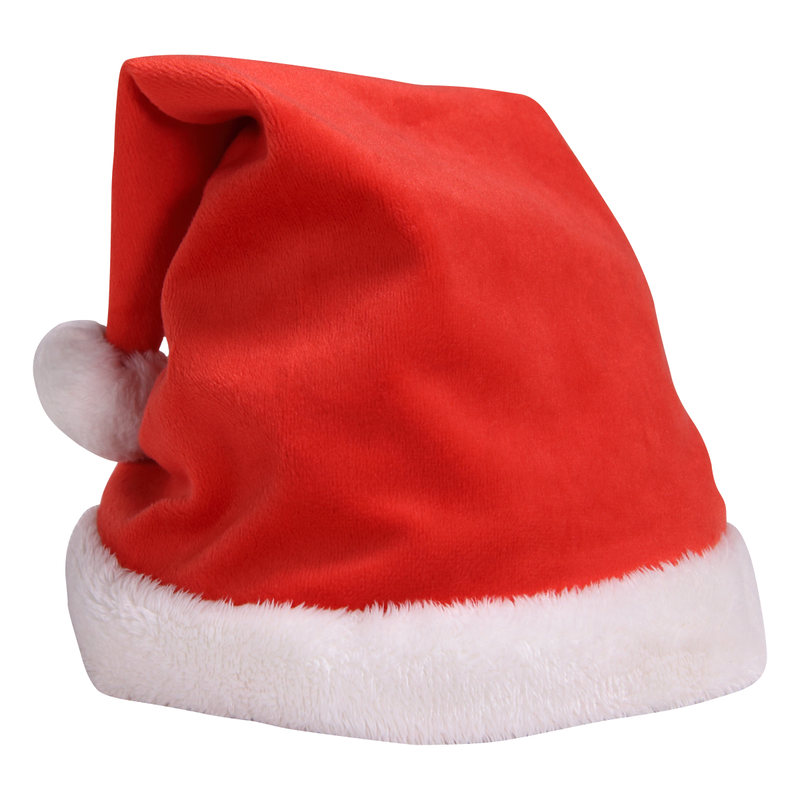 Plush Holiday/Santa Hat (for Brain plushie)