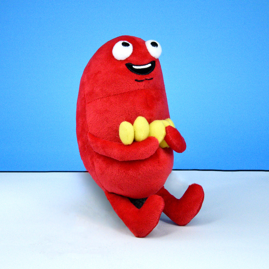 Kidney with Stones Plushie