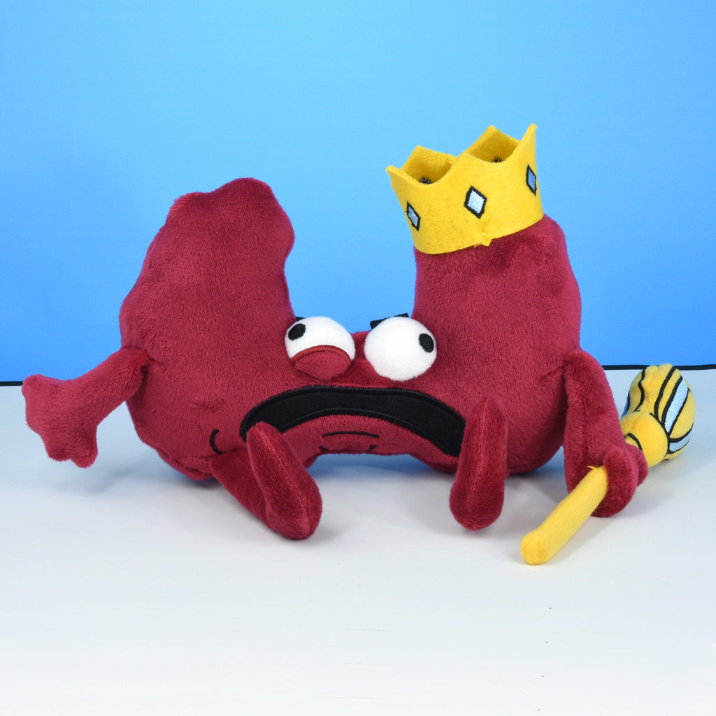 King Thyroid Plushie