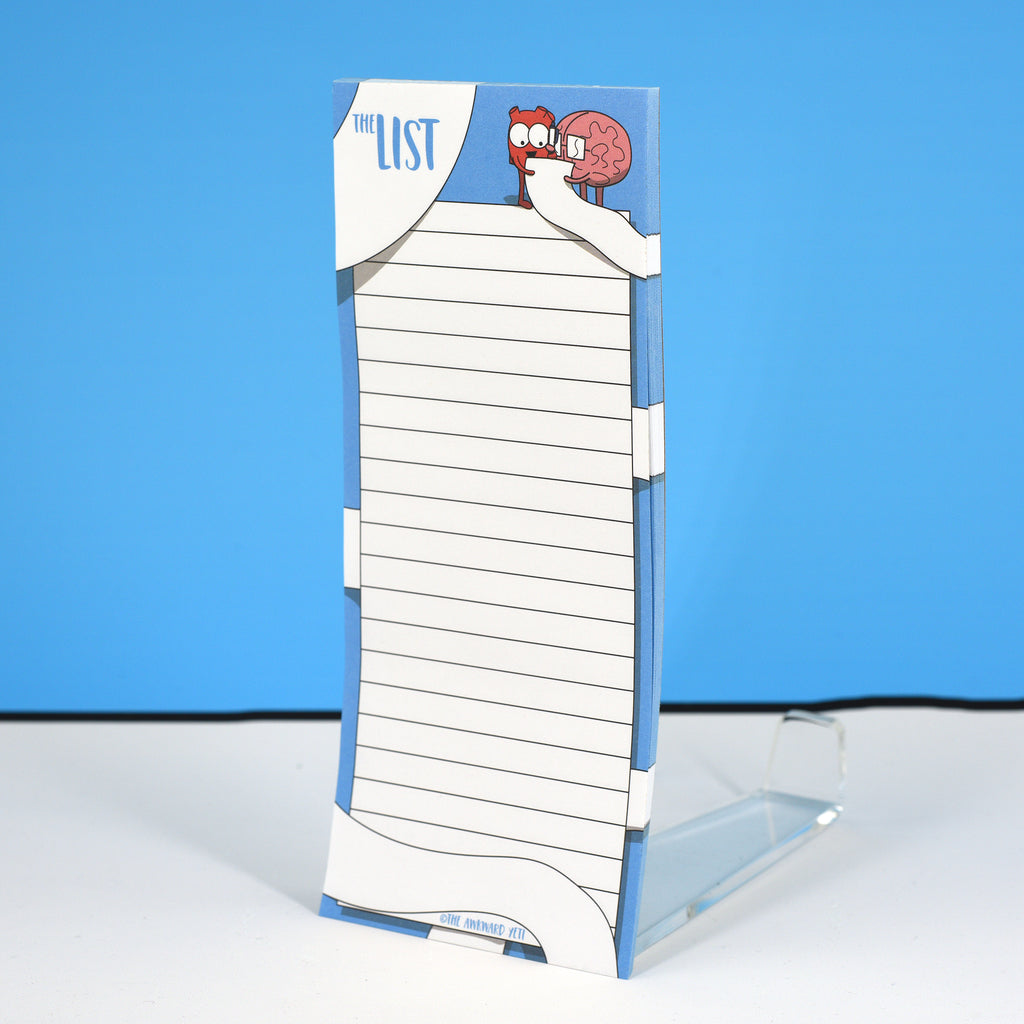 """The List"" Magnetic Notepad"