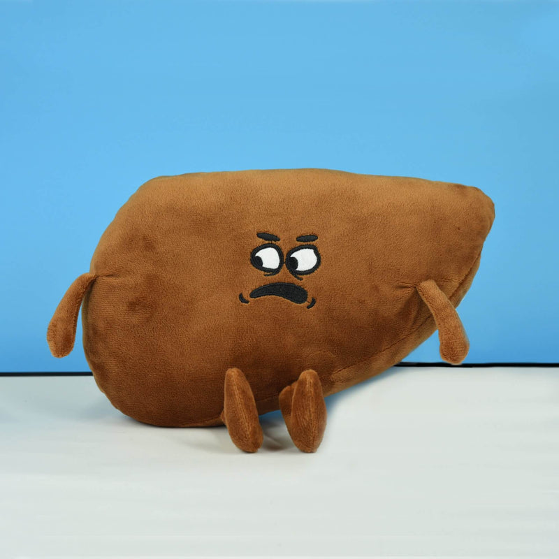 Angry Liver Plushie