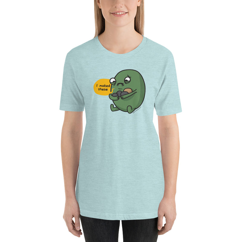 "Gallbladder ""I maked these"" Premium Short-Sleeve Unisex T-Shirt"