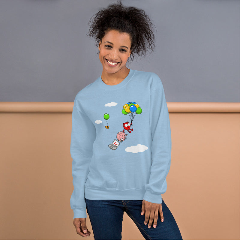 Float On Unisex Sweatshirt