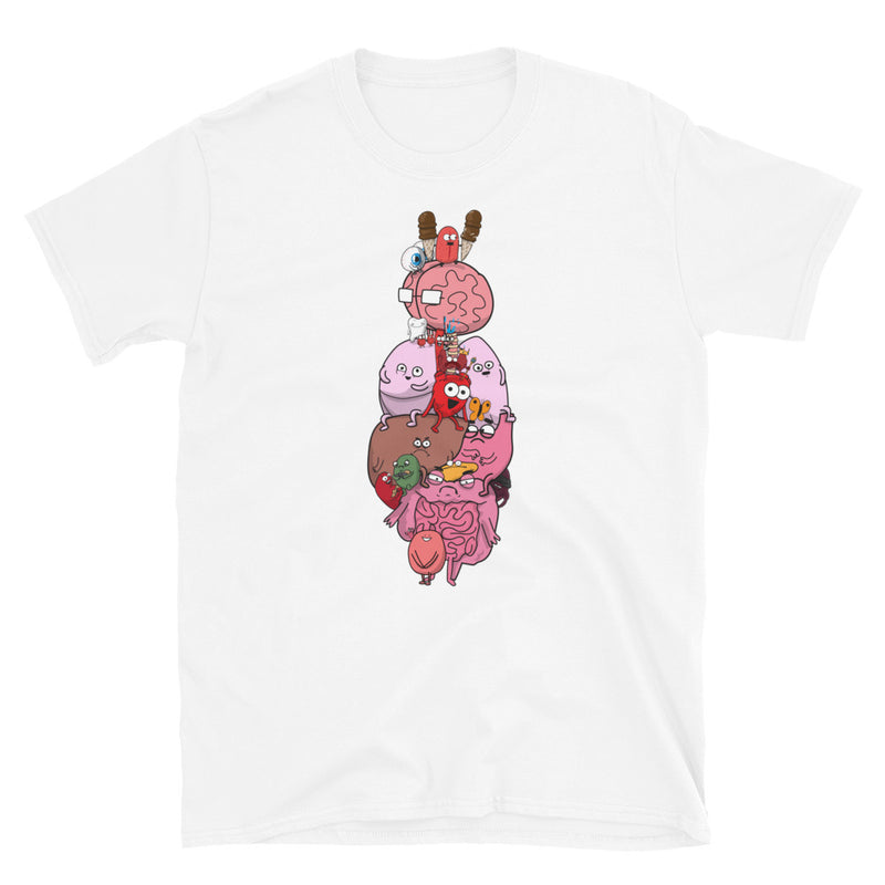 Anatomy Diagram Short-Sleeve Unisex T-Shirt