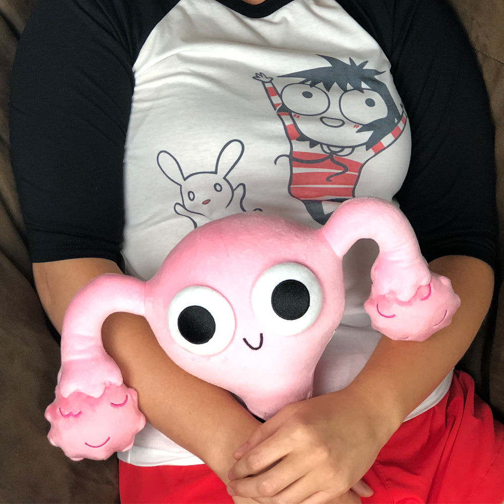 Uterus Plushie by Sarah's Scribbles