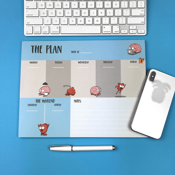 """The Plan"" Weekly Planner Pad"