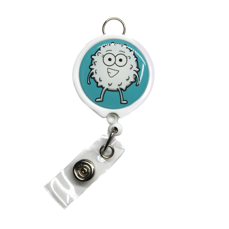 White Blood Cell Badge Reel