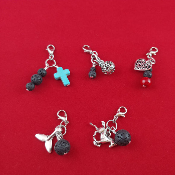 Lava Rock Charms
