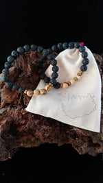 Load image into Gallery viewer, Natural Picture Jasper Lava Bracelet