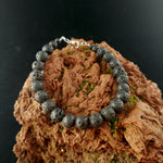 Load image into Gallery viewer, Basic Wired Lava Bracelet with Lobster Clasp