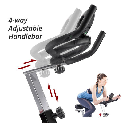 Indoor  Stationary Exercise Bike with Screen for Home Workout Bike Machine