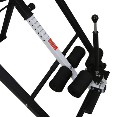 Foldable Inversion Table Adjustable Heavy Body Sculpture Fitness