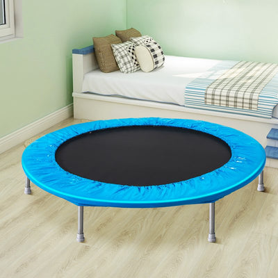 45 Inch Mini Trampoline Exercise Rebounder with Safety Padding and Springs