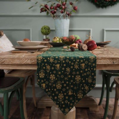 Christmas Table Runner American Country Style Coffee Table Tv Cabinet Table Cloth