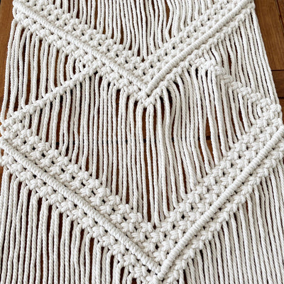 Nordic Table Runner Bohemia Hand-woven Table Runner Tapestry Rope Woven Living Room Dining Table