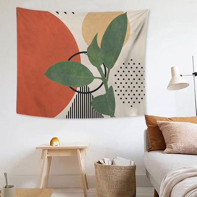 Nature Geometry Wall Tapestry Home Decoration for Bedroom Living Room