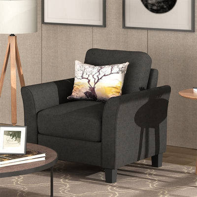 Living Room Armrest Single Sofa Chair Seater Couch