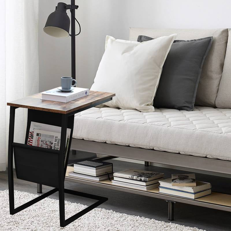 Industrial Side Table End Table Living Room Furniture