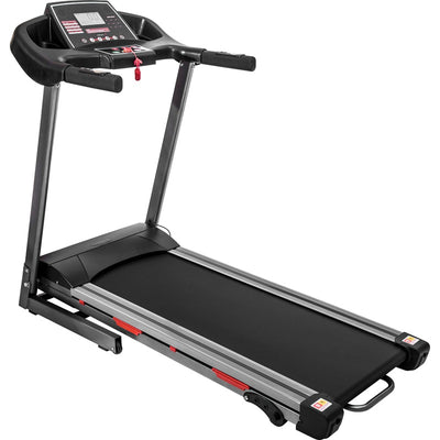 1.5 HP Electric Portable Folding Treadmill Compact Running Machine for Home with LCD