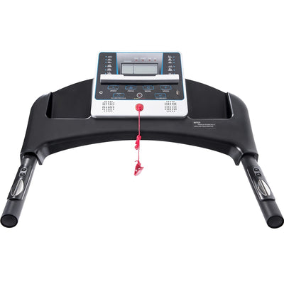 Folding Portable Treadmill Electric Running Machine with Audio Speaker for Walking