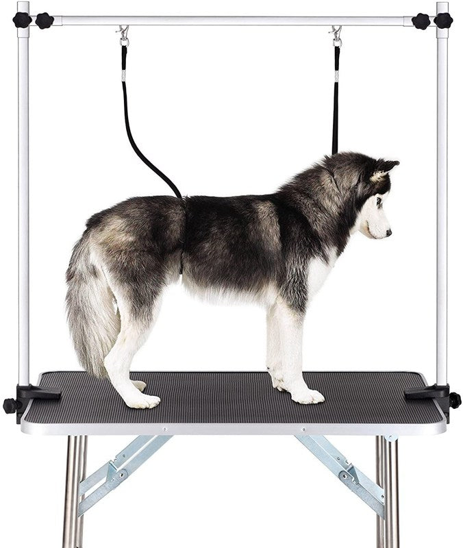 Large Pet Grooming Table Dog Cat Heavy Duty Bathing Trimming Station