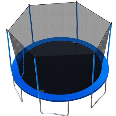 12FT Family Trampoline with Safety Net