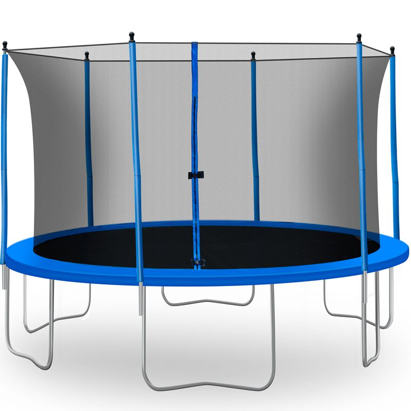 13 FT Family Trampoline with Safety Net