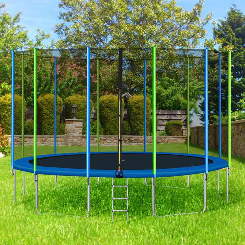 Large Round Trampoline with Safety Net 12FT 14FT 16FT