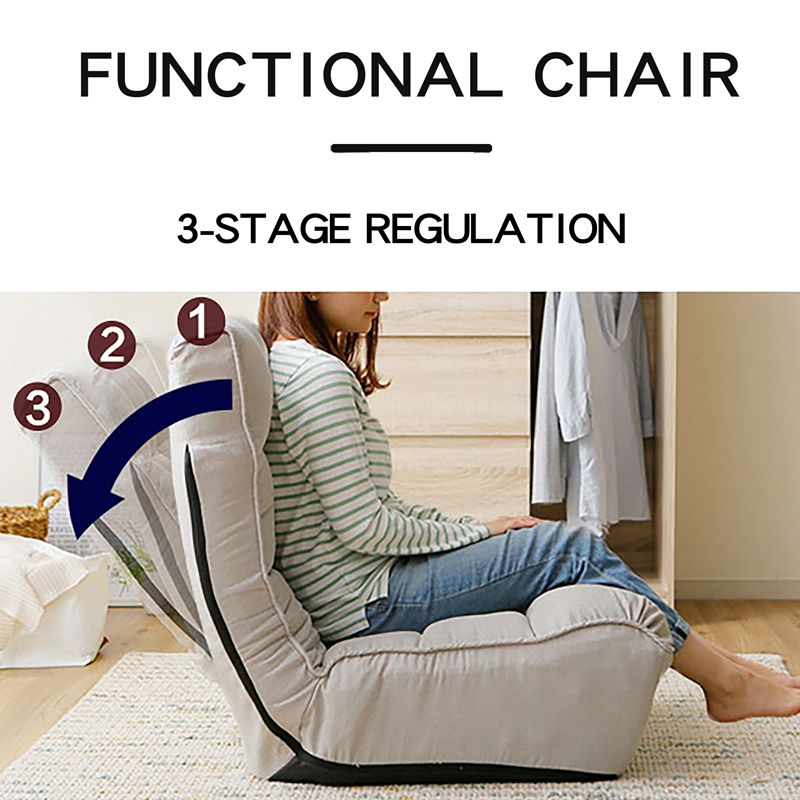 Single Adjustable Folding Chair Floor Japanese Reclining Sofa Tatami Chair Lazy Sofa