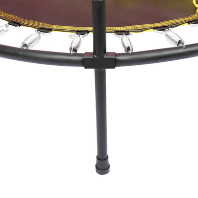 48 Inch Round Folding Trampoline with Safety Net