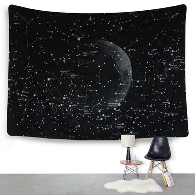 Psychedelic Constellation Galaxy Space Pattern wall tapestry Wall Hanging Tapestries Star tapestry for wall Home