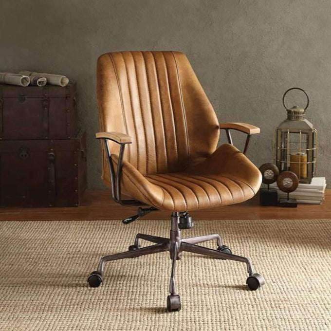 Leather Office Chair Executive Gaming Computer Desk Swivel Chair