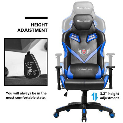 High-Back Gaming Chair Office Ergonomic Racing Swivel Computer Chair