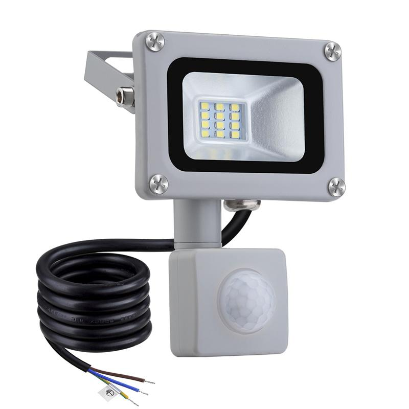 10W-100W Floodlights with Motion Sensor Led Sensor Outdoor PIR Security Light