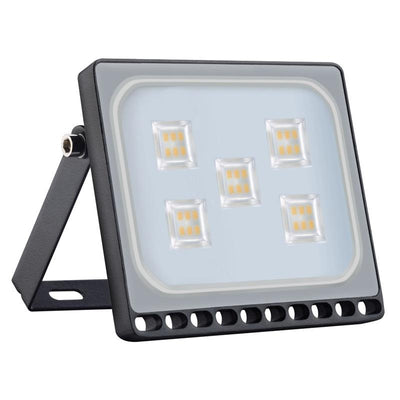 10w-50w LED Ultra-thin Outdoor Spotlight IP65 Waterproof for Garden Garages Sports Field Yard EEKA 5 10 20 Pack