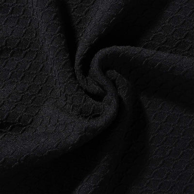Black Upholstered Stretch Dining Chair Seat Cushion Covers Jacquard Chair Seat Cushion Protectors Chair Slipcovers